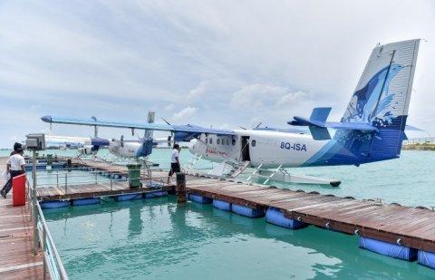 Maldivian ge Seaplane pilotun miadhu ihthijaaj kohfi