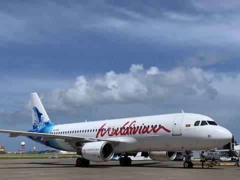 Maldivian in Dhaka Flight thah alun fashanee