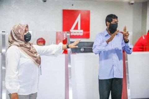 BML ge muvazzafunnah sign language training dheefi