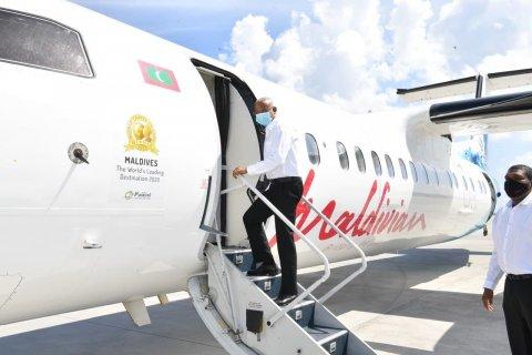Raees Solih Th. atoll ah kuravvaa 3 dhuvahuge dhathuru fulheh fattavaifi
