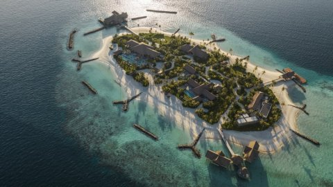 Waldorf Astoria's in reakah 80,000 Usd ah vikkaa private island eh raajjeygai