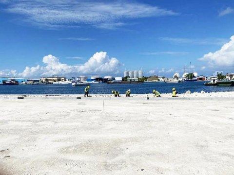 Thilafushi bandharu rehabilitate kurumuge mashroou baarah kuriyah dhey: MTCC