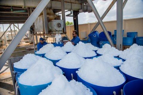 MWSC in R.Dhuvaafaru gai Ice vikkaa agu heyokoffi