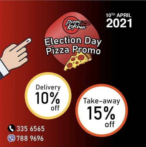 Votulumaa dhimaa koh pizza kitchen ge khaassa promotion eh!