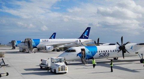 Portugal ge Sata Airline in raajje ah dhathuruthah fashanee