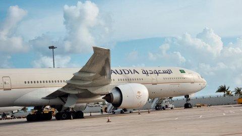 Saudi airline ge dhathuru thah alun raajje ah fashaifi