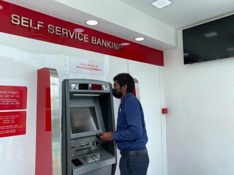 BML in Himmafushi adi Dhiffushi gai ATM ge khidhumai fashaifi
