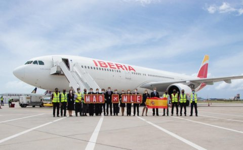 Spain ge gaumee Airline in Raajje ah dhathuru fashaifi