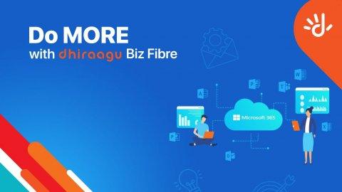 Dhiraagu Biz Fibre Broadband package thakah bodu badhaleh