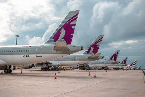 Qatar airways in Raajje ah kuraa dhathuruthah ithurukohfi