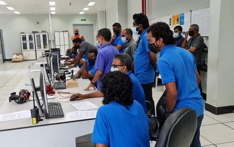 Greater Male' Interconnection Grid Project kaamiyaabu kamaaeku ninmaalaifi
