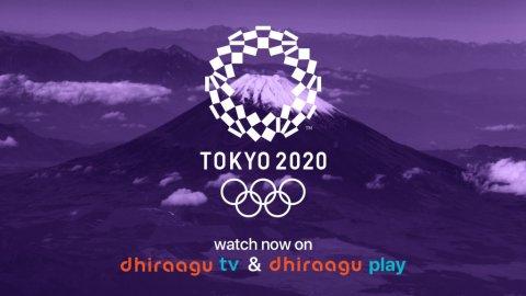 DhiraaguTV adi Dhiraagu Play in Tokyo olympics 2020  beleyne
