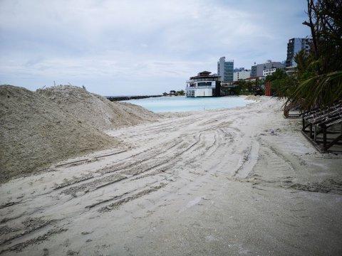 Artificial beach aai rasfannu adhi usfasgandah veli alhanee