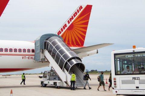 Air india ge dhathuru thah raajje ah alun fashaifi