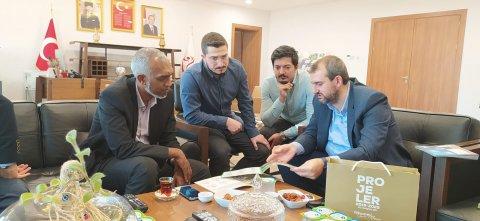 Mayor muizz turkey gungeon district ge mayor aa bahdhalu koffi